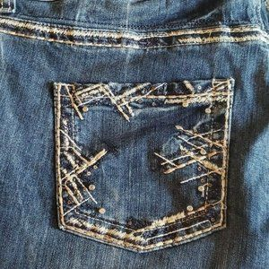 Maurices Women's Crop Cuffed Jeans Size 18